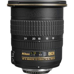 Nikon 12-24mm f/4G IF-ED AF-S DX Zoom-Nikkor Lens
