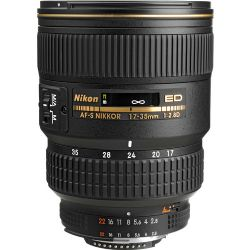 Nikon 17-35mm f/2.8D AF-S Zoom Nikkor  ED-IF Lens