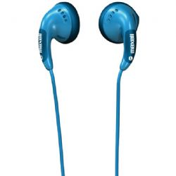 Maxell Blue Stereo Earbuds