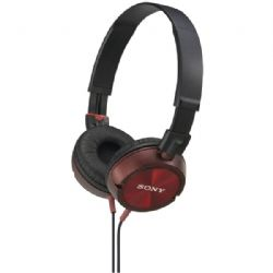 Sony Zx Stereo Hdphns Red