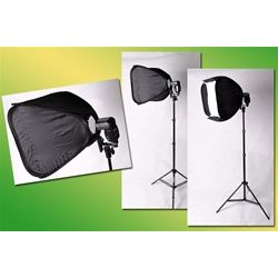Studio Softbox for Speedlight and Flash with Stand