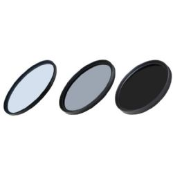 Precision 3 Piece Coated Filter Kit  (72mm)