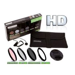 Precision 6 Piece HD Multi Coated Glass Filter Kit (58mm)
