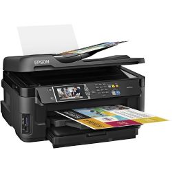 Epson - WorkForce WF-7610 Wireless All-In-One Printer