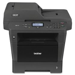 Brother - DCP-8155DN Black-and-White All-In-One Printer